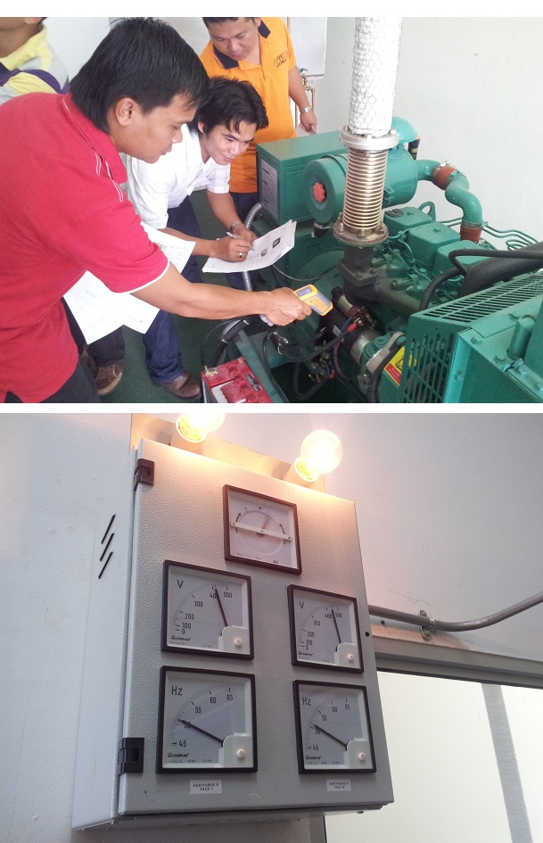 Competency Certificate in Chargeman L3 (Gen-set Synchronizing)