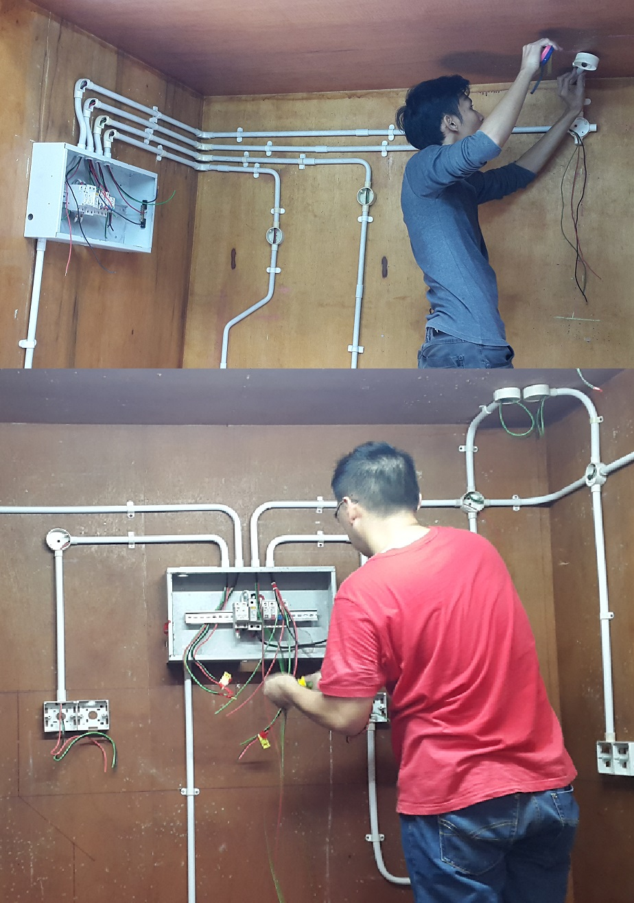 Competency Certificate in Wireman Grade 2 (Single phase System)
